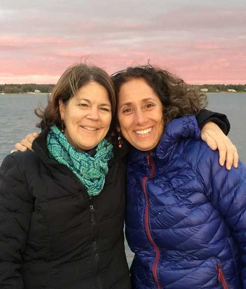 Mary Beth Schoening with Stephanie Briody